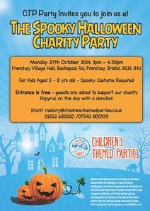 CTP Party Bristol Halloween Invite