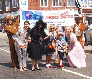 World Book Day, Kids Parties Team CTP Party