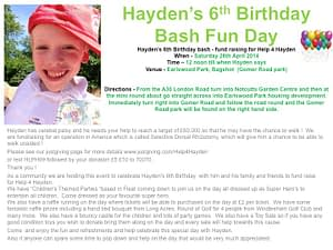 Hayden's 6th Birthday Party