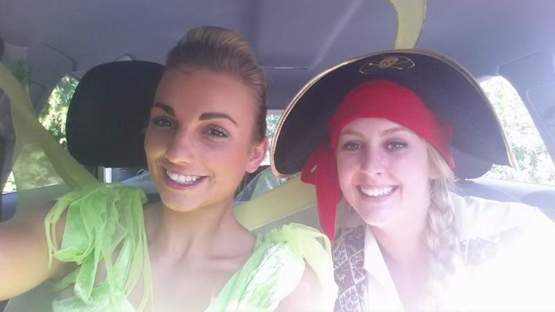 Selfie - Tinkerbell & Pirate