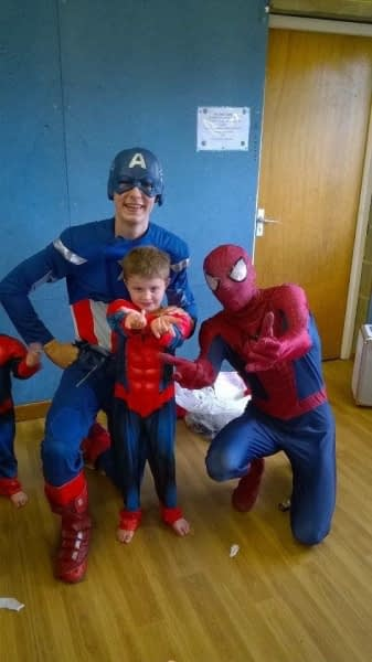 Superhero Party 2