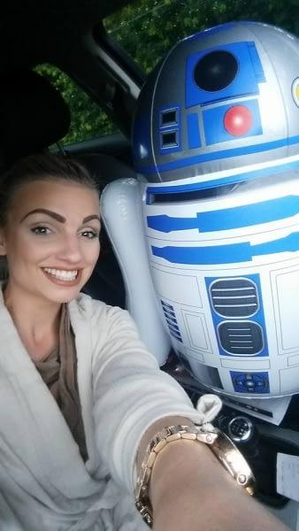 Jedi Selfie