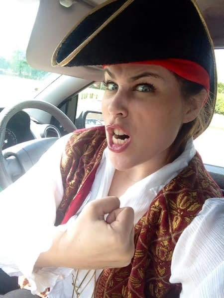 Selfie - Pirate Pat
