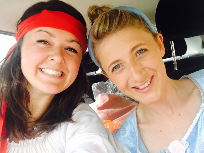Selfie - Cinderella & Pirate