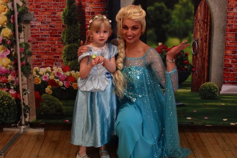 Meet Elsa from Frozen