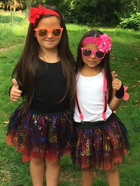 Disco Tutu girls ready to Tango!