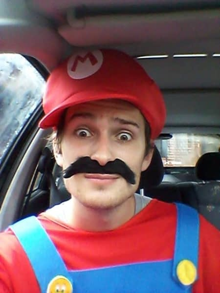 selfie - Mario