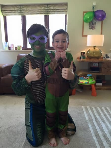 TMNT kids entertainer