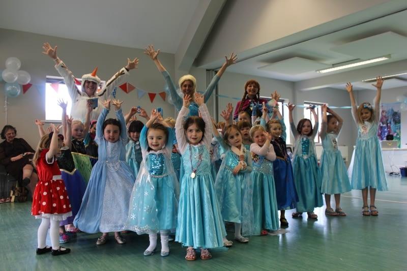 Elsa & Ana Party