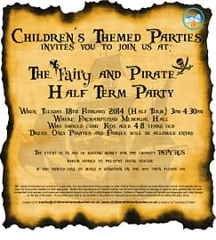 Pirate & Fairy Party 2013