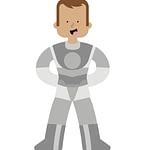 Space Hero character